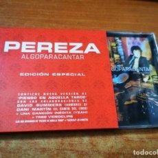 CDs de Música: PEREZA ALGO PARA CANTAR EDICION ESPECIAL CD ALBUM AÑO 2002 DAVID SUMMERS DANI MARTIN YEAH INEDITA. Lote 268986629