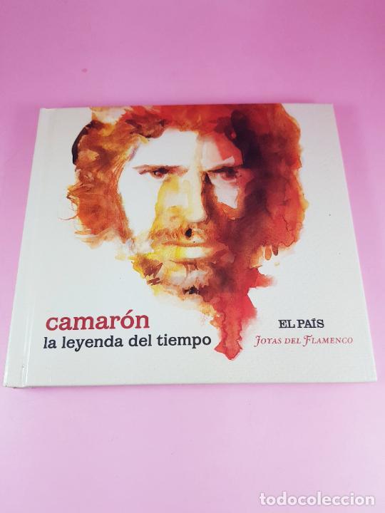 CDs de Música: cd-camarón de la isla-la leyenda del tiempo-libreto-impoluto-joyas del flamenco-coleccionistas. - Foto 2 - 268989834