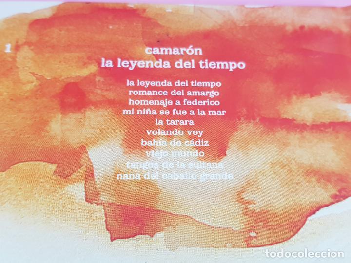 CDs de Música: cd-camarón de la isla-la leyenda del tiempo-libreto-impoluto-joyas del flamenco-coleccionistas. - Foto 5 - 268989834