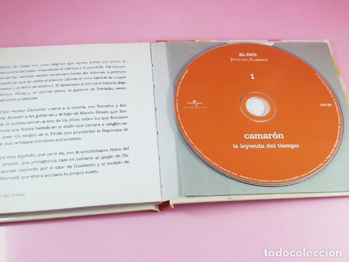 CDs de Música: cd-camarón de la isla-la leyenda del tiempo-libreto-impoluto-joyas del flamenco-coleccionistas. - Foto 10 - 268989834