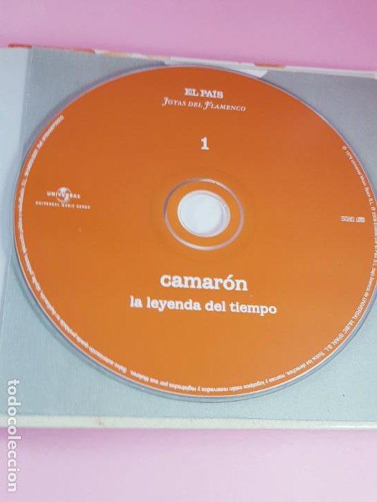 CDs de Música: cd-camarón de la isla-la leyenda del tiempo-libreto-impoluto-joyas del flamenco-coleccionistas. - Foto 12 - 268989834
