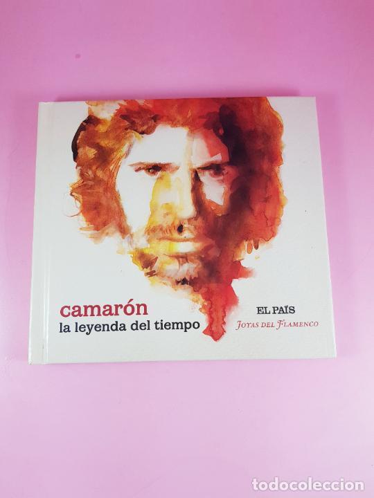CD-CAMARÓN DE LA ISLA-LA LEYENDA DEL TIEMPO-LIBRETO-IMPOLUTO-JOYAS DEL FLAMENCO-COLECCIONISTAS. (Música - CD's Otros Estilos)