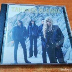 CDs de Música: TAHURES ZURDOS NIEVE NEGRA CD ALBUM DEL AÑO 1991 CONTIENE 12 TEMAS MUY RARO EN CD AURORA BELTRAN. Lote 268992004