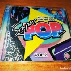 CDs de Música: YO TAMBIEN BAILABA CON SUPER POP VOL. 2 CD ALBUM PRECINTADO MICHAEL JACKSON MECANO SPICE GIRLS. Lote 268992649