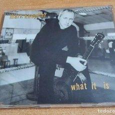 CDs de Música: MARK KNOPFLER WHAT IF IS CD SINGLE PROMO DEL AÑO 2000 EU DIRE STRAITS CONTIENE 1 TEMA. Lote 208573837