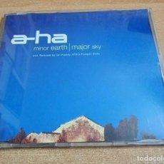 CDs de Música: A-HA MINOR EARH MAJOR SKY REMIXES PUMPIN DOLLS CD SINGLE 2000 ALEMANIA PORTADA DE PLASTICO 8 TEMAS. Lote 268995419