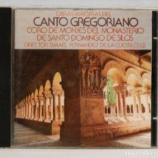 CDs de Música: CD. CANTO GREGORIANO. MONASTERIO DE SILOS. ISMAEL FERNANDEZ DE LA CUESTA, OSB. Lote 268998959
