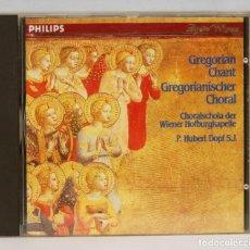 CDs de Música: CD. GREGORIAN CHANT. DOPF, SJ. Lote 268999384