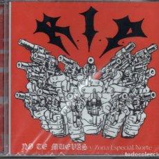 CD de Música: R.I.P. (4) – NO TE MUEVAS + ZONA ESPECIAL NORTE (NUEVO PRECINTADO ). Lote 259062035