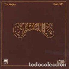 CDs de Música: THE CARPENTERS - THE SINGLES 1969-1973. Lote 269033149
