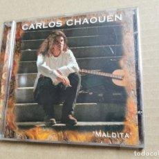 CDs de Música: CARLOS CHAOUEN MALDITA CD ALBUM DEL AÑO 2000 CONTIENE 11 TEMAS CANTAUTOR MUY RARO FONOMUSIC. Lote 269045748
