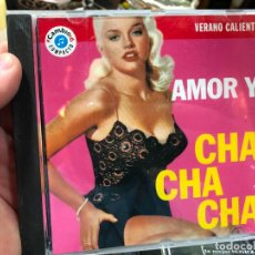 CDs de Musique: CD AMOR Y CHA CHA CHA - VERANO CALIENTE. Lote 269050693