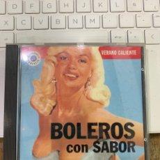 CDs de Musique: CD BOLEROS CON SABOR - VERANÓ CALIENTE. Lote 269051283