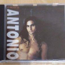 CDs de Música: ANTONIO FLORES (LO MEJOR DE ANTONIO) CD 1ª EDICIÓN SIN CODIGO DE BARRAS - 9 TEMAS. Lote 269075798