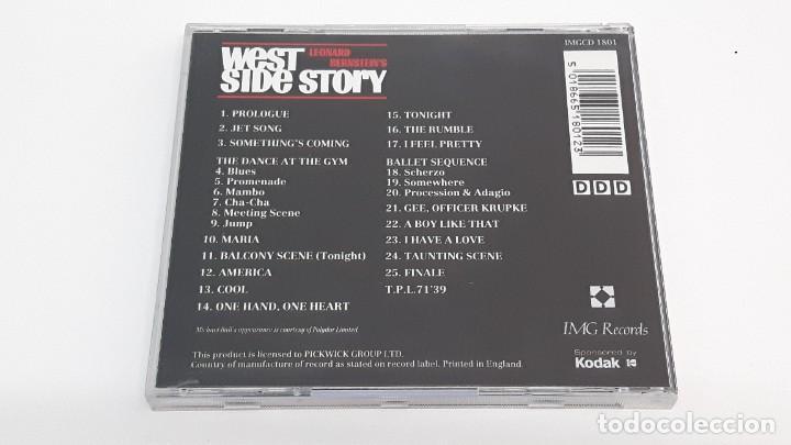 CDs de Música: CD WEST SIDE STORY - LEONARD BERNSTEINS - Foto 3 - 269078508