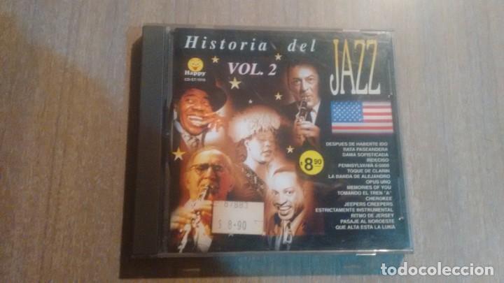 HISTORIA DEL JAZZ VOL 2 - CD - (Música - CD's Otros Estilos)