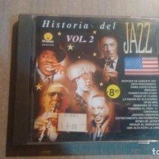 CDs de Música: HISTORIA DEL JAZZ VOL 2 - CD -. Lote 269079263