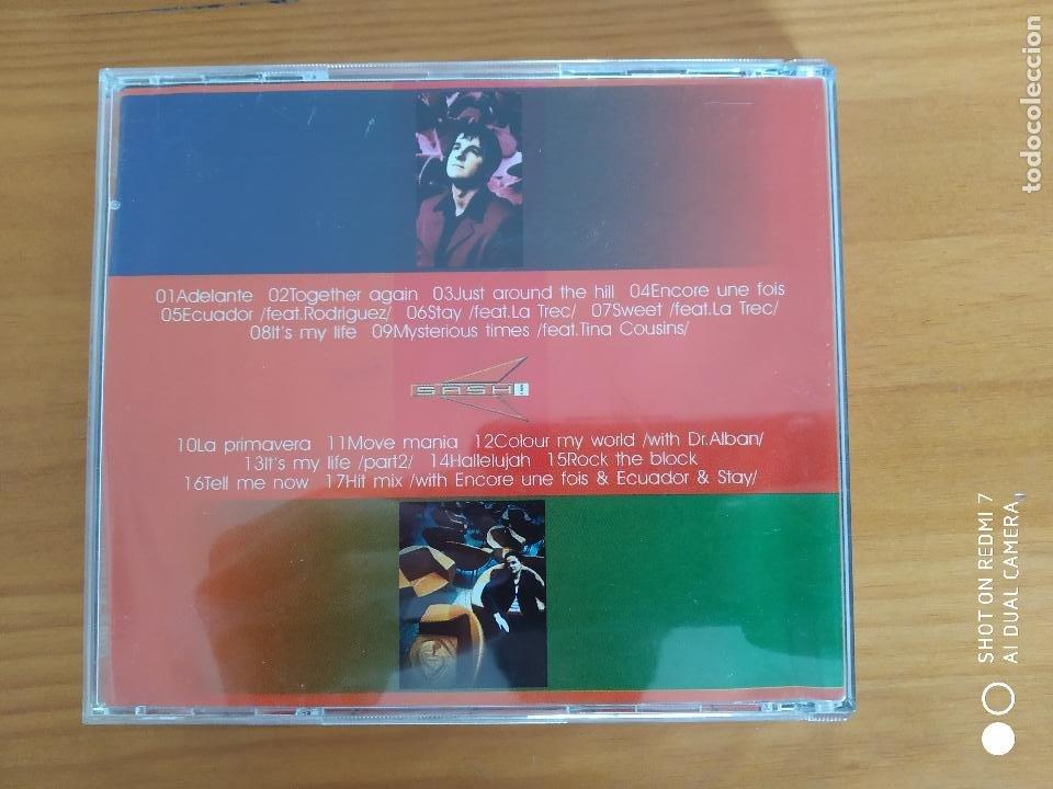 CDs de Música: CD SASH - GREATEST SINGLES 2000 (EE) - Foto 2 - 269080083