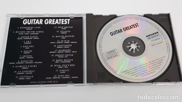 CDs de Música: CD GUITAT GREATEST - COMO NUEVO - Foto 2 - 269080868