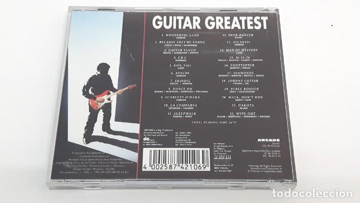 CDs de Música: CD GUITAT GREATEST - COMO NUEVO - Foto 3 - 269080868