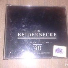 CDs de Música: BIX BEIDERBECKE - 2 CD -. Lote 269081743