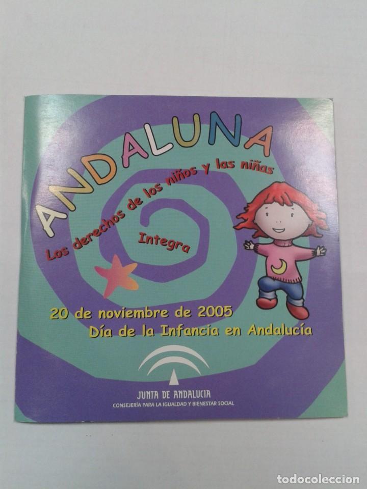 ANDALUNA LOS DERECHOS DE LOS NIÑOS Y LAS NIÑAS. CD (Música - CD's Otros Estilos)