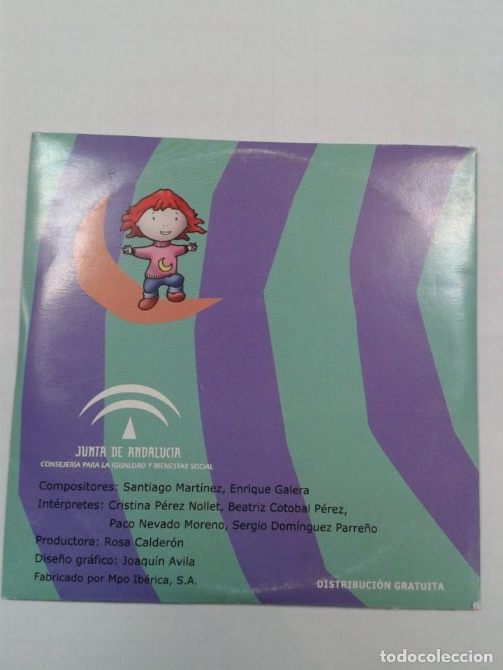 CDs de Música: ANDALUNA LOS DERECHOS DE LOS NIÑOS Y LAS NIÑAS. CD - Foto 2 - 269087443