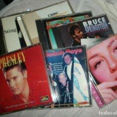 CDs de Música: LOTE 47 CD VARIADO (ELVIS/SPRINGSTEEN/VAN HALEN/THALIA/AL BANO/COHEN/ILEGALES...ETC) VER LISTADO. Lote 269091803