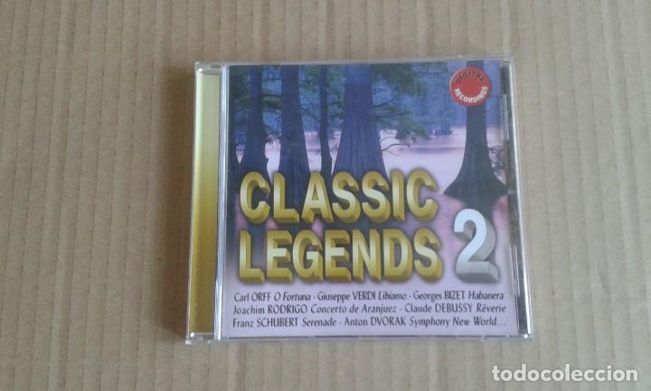 CLASSIC LEGENDS 2 CD 2005 (Música - CD's Clásica, Ópera, Zarzuela y Marchas)