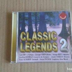 CDs de Música: CLASSIC LEGENDS 2 CD 2005. Lote 269093788