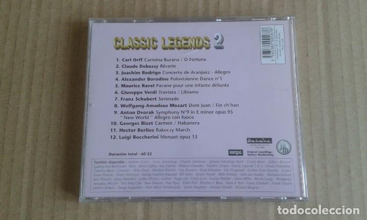 CDs de Música: CLASSIC LEGENDS 2 CD 2005 - Foto 3 - 269093788