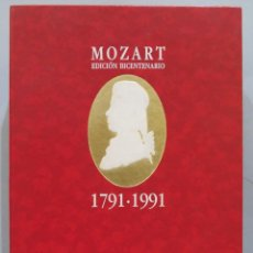 CDs de Música: MOZART. EDICIÓN BICENTENARIO. 1791-1991. Lote 269094473