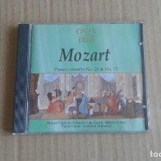 CDs de Música: MOZART - PINO CONCERTO Nº 21 % Nº 23 CD 1991. Lote 269097398