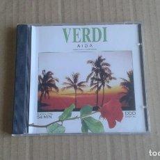 CDs de Música: VERDI - AIDA CD 1992. Lote 269097478