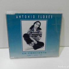 CDs de Música: DISCO CD. ANTONIO FLORES – EN CONCIERTO (MADRID, 1 - MARZO - 1995). COMPACT DISC.. Lote 269097508