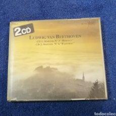 CDs de Música: LUDWIG VANN BEETHOBEN. SINFONIA 3 Y 6. HEROICA PASTORAL. Lote 269113118