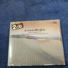 CDs de Música: ANTONIN DVORAK. VIENNA MASTER SERIES. SINFONIA NUMERO 8. DANZAS ESLAVAS. SERENATA OP 22. Lote 269114158