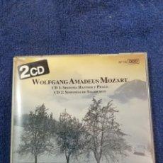 CDs de Música: WOLFGANG AMADEUS MOZART. SINFONIA HAFFNER Y PRAGA. SINFONIAS DE SALZBURGO. Lote 269116643
