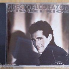 CDs de Música: MIGUEL RIOS (DIRECTO AL CORAZON) CD 1991 - CHARLY GARCIA, MANOLO TENA, PANCHO VARONA, FITO PAEZ. Lote 269123273