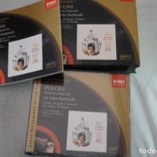 CDs de Música: CD - PACK CON LIBRETO - PUCCINI - MADAME BUTTERFLY - SIR JOHN BARBIROLLI / EMI CLASSICS. Lote 269137198