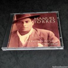 CDs de Música: MANUEL TORRES - LA LEYENDA DEL CANTE - 1909 - 1930 - CD - 2000. Lote 269138168