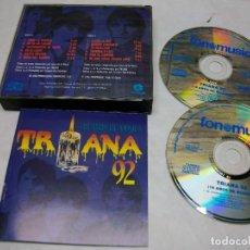 CDs de Música: TRIANA TRIANA 92 - 18 AÑOS DE MÚSICA 2 CD. Lote 269145813