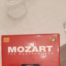 CDs de Música: MOZART. MASTERWORKS. Lote 269164953
