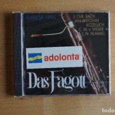 CDs de Música: DAS FAGOTT. CD. (PRECINTADO). Lote 269175643