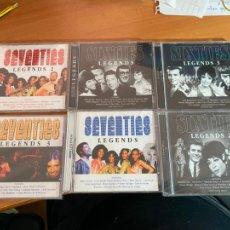 CDs de Música: SIXTIES & SEVENTIES LEGENDS COMPLETO 6 CD (CDIB19). Lote 269217353