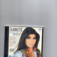 CDs de Música: CD - JEANETTE - VOL.2 - DOBLE CD - TODOS SUS ALBUMES EN RCA - (1981 - 1984 ) - 2003 - MBE. Lote 269220893