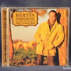 CDs de Música: BERTÍN OSBORNE - MIS RECUERDOS - CD. Lote 269224823