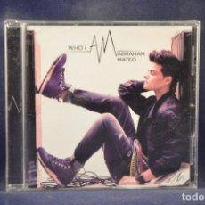 CDs de Música: ABRAHAM MATEO - WHO I AM - CD. Lote 269225768