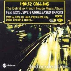 CDs de Música: DJ RORK - PARIS CALLING (CD, COMP) LABEL:DISTANCE CAT#: DI2202. Lote 269225838