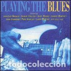 CDs de Música: VARIOUS - PLAYING THE BLUES (CD, COMP) LABEL:DISKY CAT#: VI 863592. Lote 269226238